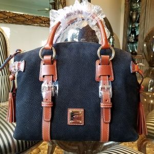 Dooney & Bourke Nubuck Satchel